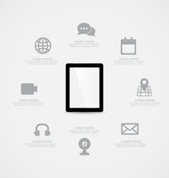 Tablet Information vector