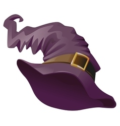 Witches hat Accessory for Halloween masquerade vector