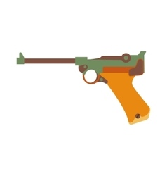Gun icon cartoon vector image