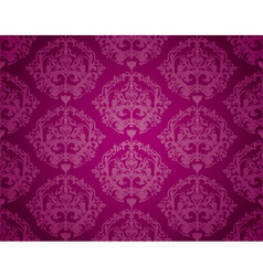 Seamless Wallpaper Pattern Purple vector image