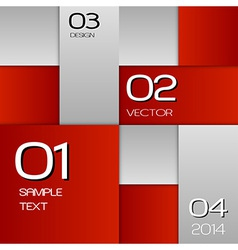 business squares red full page with text vector image