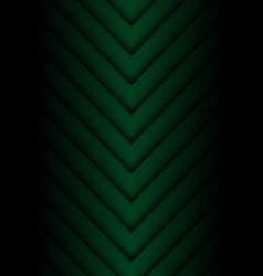 dark green arrow pattern direction vector image