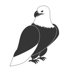 Hawk eagle theme design icon vector image