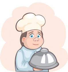 Kitchen boy vector
