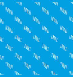 postal lines pattern seamless blue vector image
