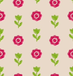 Seamless floral texture vintage pattern for vector