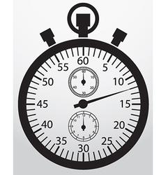 Stopwatch app icon vector