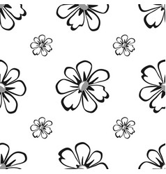 floral geometric seamless pattern fashion graphic vector image vector image