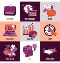 Business Design Concept vector
