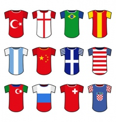 national soccer uniform vector image