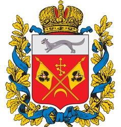 Orenburg Coat-of-arms vector