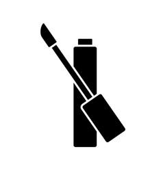 Silhouette lip gloss liquid lipstick or concealer vector