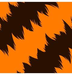 Tiger stripe skin vector image