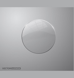 transparent glass white pearl water soap bubble vector image