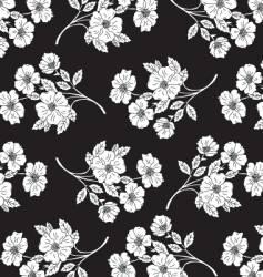 flower pattern for textile design vector image