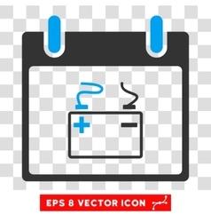 Accumulator Calendar Day Eps Icon vector