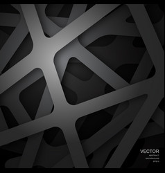 background in the form of a gray abstract grid vector image