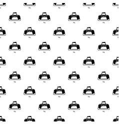 Bag sport pattern seamless vector
