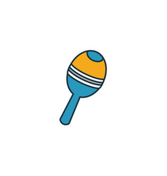 Beanbag icon outline style creative thin design vector