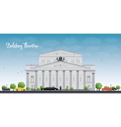 Bolshoy Theatre Moscow vector