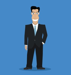 Businessman color vector