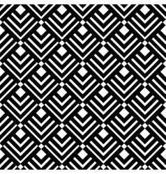 Geometric White Black Triangles Pattern vector