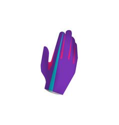 Mtb gloves mockup vector