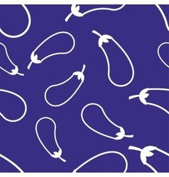 Pattern Circuit Eggplant vector image