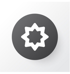 Rub el hizb icon symbol premium quality isolated vector