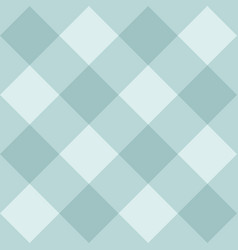 seamless mint blue background checkered pattern vector image