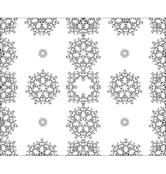 Seamless ornament Ethnic pattern vector image