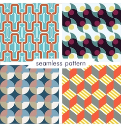 Seamless pattern set 7 vector