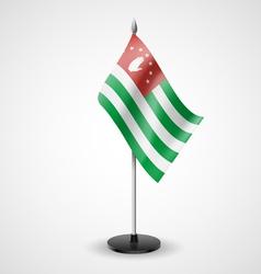 Table flag of Abkhazia vector