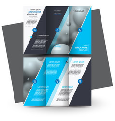 Tri-foldbrochure design brochure template creative vector