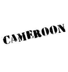 Cameroon stamp rubber grunge vector image vector image