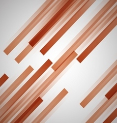 Abstract background with orange straight lines vector image vector image