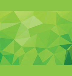 green geometric wallpaper background vector image