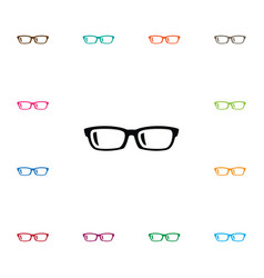 isolated specs icon nerd element can be vector image