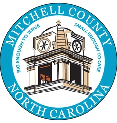 Mitchell County Seal vector
