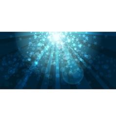 Ocean Underwater Background vector image