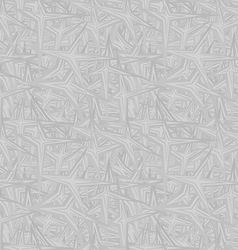 Silver seamless pattern background vector