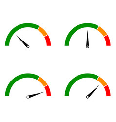 Speed metering color vector