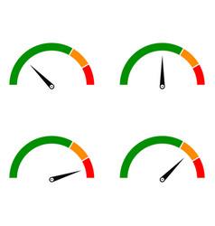 Speed metering color vector