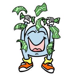 winner money vector image