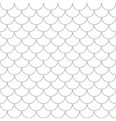 Seamless pattern with fish scales vector image