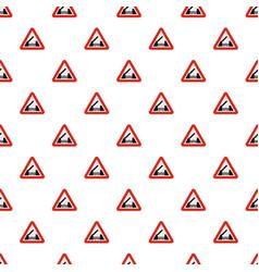 Drawbridge pattern seamless vector