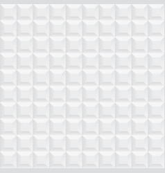 white ceramic cubes texture - seamless vector image vector image