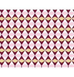 Abstract geometric shape pattern ornament vector image