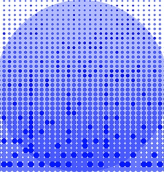 Circles blue and white background vector image