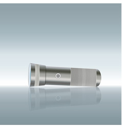 Flashlight isolated on transparent background vector